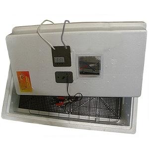 Инкубатор Несушка-63 -ЭА-12В н/н 46 63 яйца, автоповорот яиц, 12В, электронный термометр